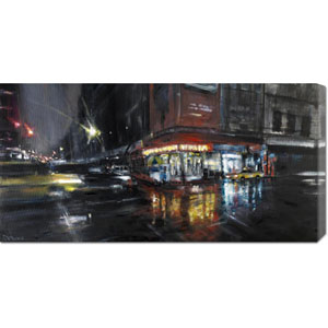 Harlem Street by Paolo Ottone: 36 x 18 Canvas Giclees, Wall Art