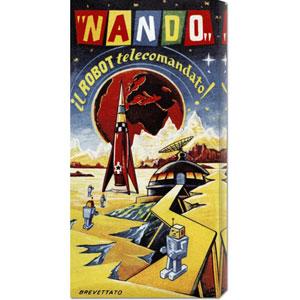 Nando - Il Robot a Telecomando: 22 x 11 Canvas Giclees, Wall Art