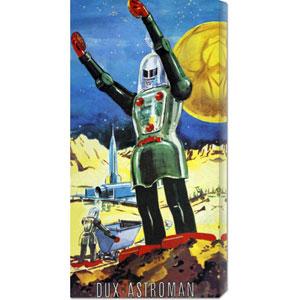 Dux Astroman: 22 x 11 Canvas Giclees, Wall Art