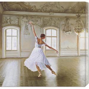 Le Grand Salon I by Pierre Benson: 24 x 24 Canvas Giclees, Wall Art