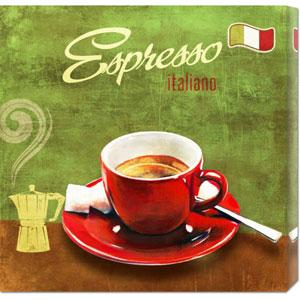 Espresso by Skip Teller: 24 x 24 Canvas Giclees, Wall Art