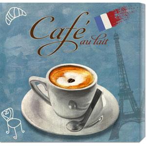 Cafe au Lait by Skip Teller: 24 x 24 Canvas Giclees, Wall Art