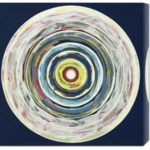 Target I by Nino Mustica: 24 x 24 Canvas Giclees, Wall Art