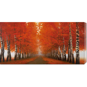 Viale di Betulle by Adriano Galasso: 36 x 18 Canvas Giclees, Wall Art