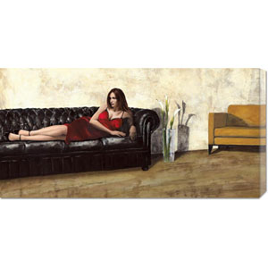 Waiting by Andrea Antinori: 36 x 18 Canvas Giclees, Wall Art