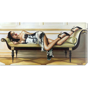 Deco Lady by Pierre Benson: 36 x 18 Canvas Giclees, Wall Art
