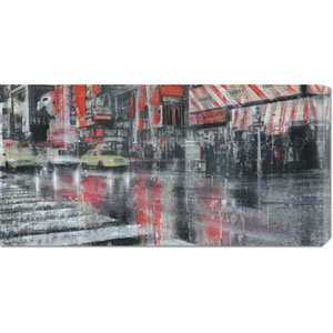 Times Square II by Dario Moschetta: 36 x 18 Canvas Giclees, Wall Art