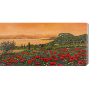 Dalle Colline by Tebo Marzari: 36 x 18 Canvas Giclees, Wall Art