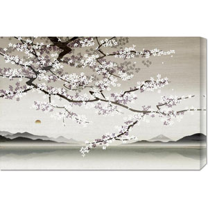 Flower blossom in Asian Landscape by Nick Purser: 30 x 20 Canvas Giclees, Wall Art