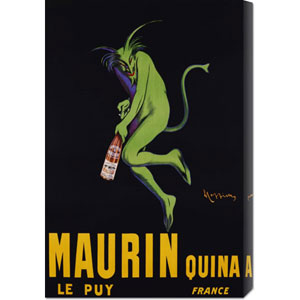 Maurin Quina, CA. 1906 by Leonetto Cappiello: 20 x 30 Canvas Giclees, Wall Art