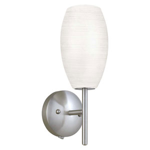 Kate Matte Nickel One-Light Wall Sconce