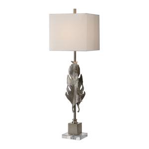 Luma Metallic Silver Lamp