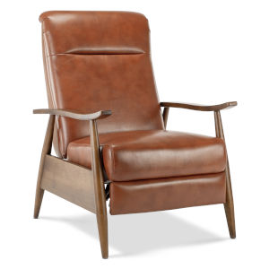 Solaris Caramel Push Back Reclining Chair