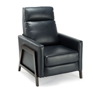Maxton Midnight Blue Push Back Recliner