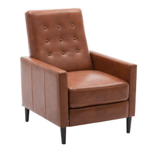 Conley Caramel Push Back Recliner