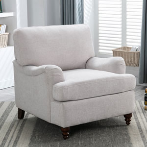 Clarendon Oatmeal Arm Chair
