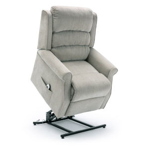 Ashland Beige Upholstery Lift Chair with Massage