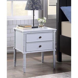 Ellison Dove Grey Two Drawer Nightstand