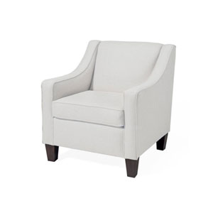 Ellery Club Chair- Snow