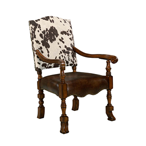Walnut  Jaxon Accent Chair