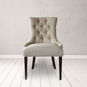 Madelyn Beige Tufted Chair