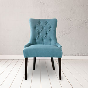 Madelyn Caribbean Tufted Chair