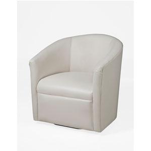 Draper Milky Swivel Chair