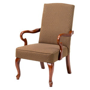 Crystal Copper Gooseneck Arm Chair