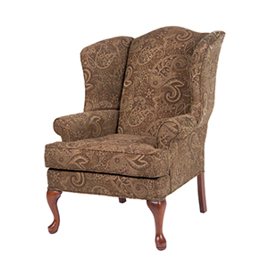 Paisley Coco Wing Back Chair