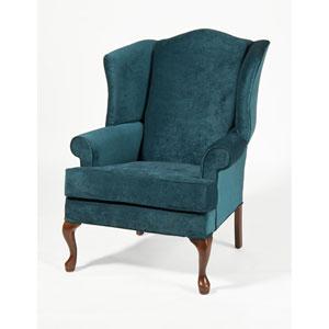 Elizabeth Ocean Wingback Chair