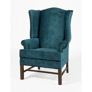 Chippendale Wing Chair- Elizabeth Ocean