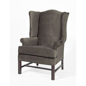 Chippendale Wing Chair- Elizabeth Ash
