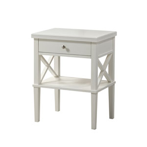 Marta White Nightstand