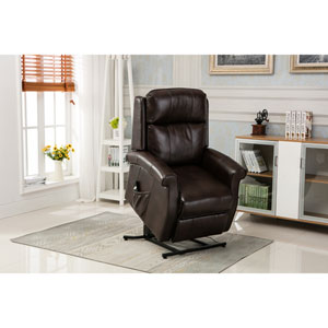 Lehman Brown Traditional Lift Chair