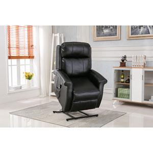 Lehman Black Traditional Lift Chair