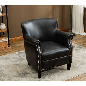 Holly Charcoal Club Chair