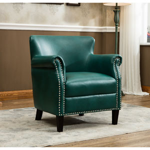 Holly Teal Club Chair