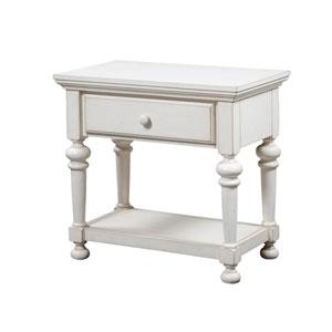 Alida Antique White Nightstand