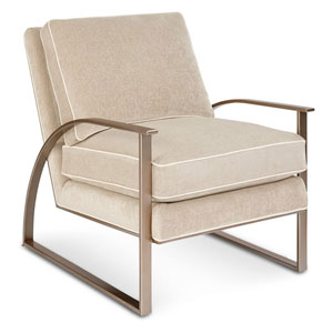 Cityscapes Bedford Sand Accent Chair