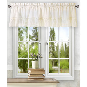 Stacey Ice Cream 54 x 13-Inch Ruffled Filler Valance