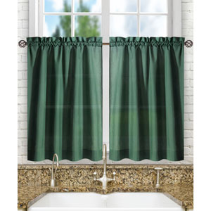 Stacey Harvest 56 x 24-Inch Tailored Tier Pair Curtains