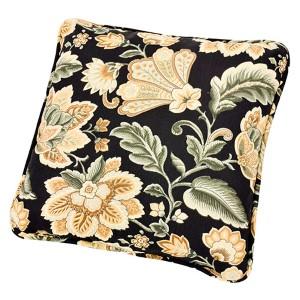 Valerie Black 17-Inch Toss Pillow