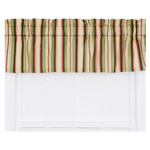 Mateo Basil 50 x 15-Inch Tailored Valance