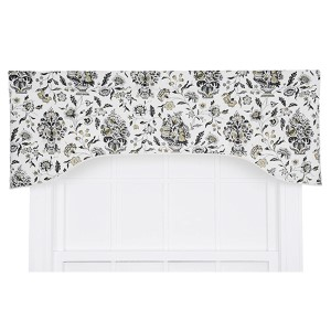 Eugene Shadow 50 x 17-Inch Lined Arched Valance