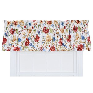 Cornwall Multicolor 80 x 15-Inch Tailored Valance