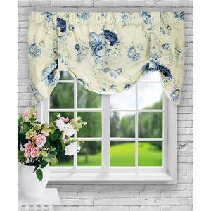Sanctuary Rose 15 x 50-Inch Lined Duchess Filler Valance