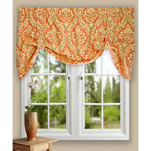 Donnington 21 x 50-Inch Lined Tie-Up Valance