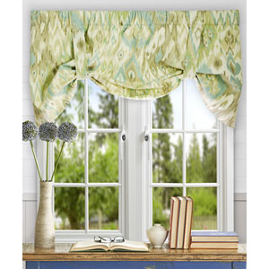 Terlina 21 x 50-Inch Lined Tie-Up Valance