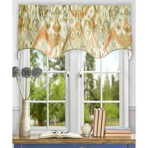 Terlina 15 x 50-Inch Lined Duchess Filler Valance