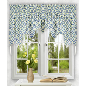 Kent Crossing 30 x 100-Inch Lined 2-Piece Duchess Valance